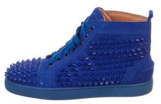 Christian Louboutin Louis Spikes Flat Sneakers Louis Spikes Flat Sneakers