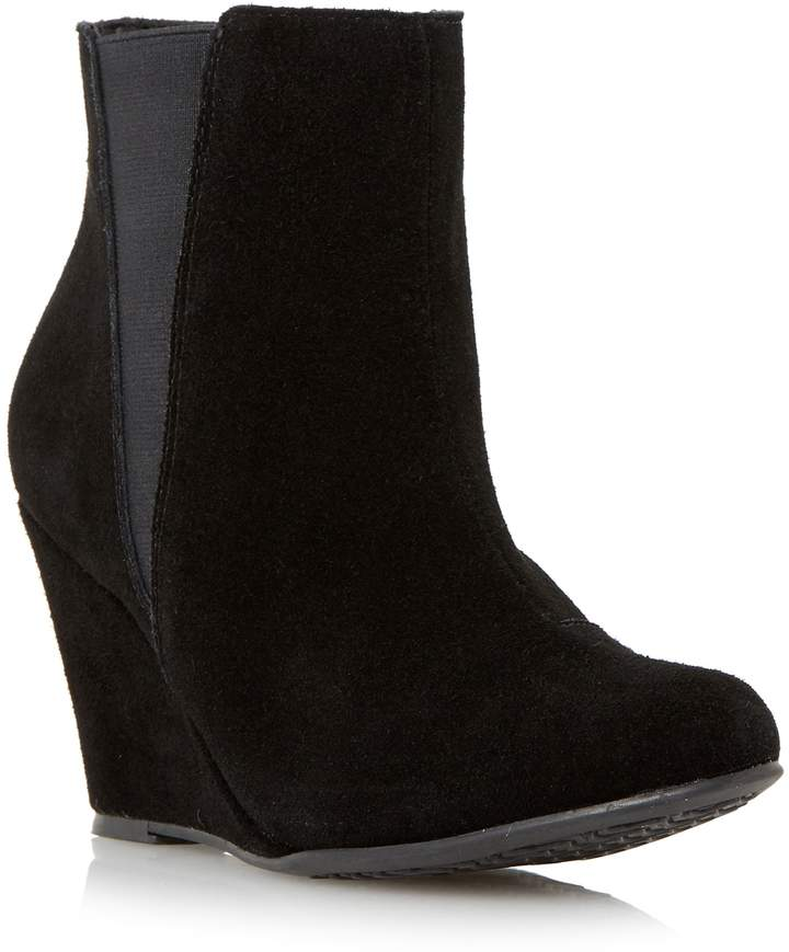 Wedge Heel Ankle Boots - ShopStyle Australia