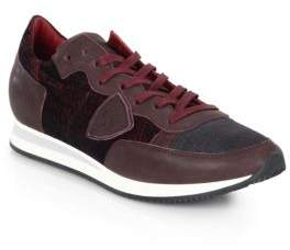Philippe Model Tropez Leather Low-Top Sneakers
