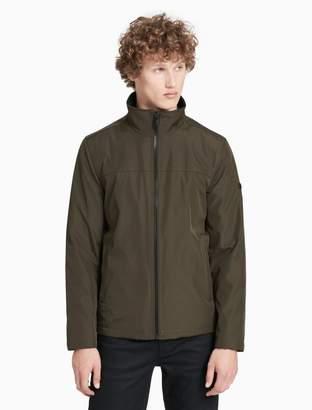 Calvin Klein poly zip jacket