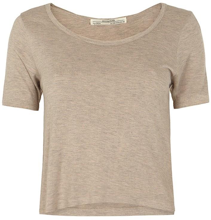 AllSaints Mollie Cropped T-shirt