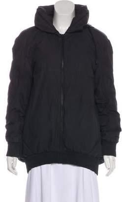 Hussein Chalayan Hooded Zip-Up Jacket