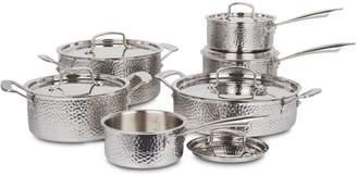 Cuisinart 12-Piece Stainless Steel Hand-Hammered Cookware Set