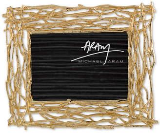 """Michael Aram Twig Gold-Tone 5"""" x 7"""" Frame"""