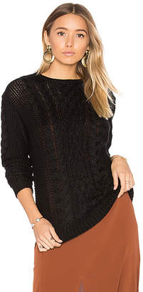 Tularosa x REVOLVE Angie Sweater in Black $178 thestylecure.com