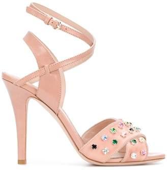 RED Valentino jewel embellished sandals