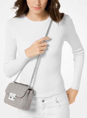 MICHAEL Michael Kors Sloan Small Quilted-Leather Crossbody