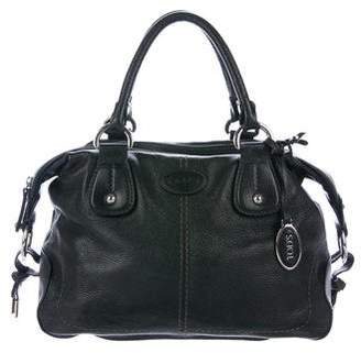 Tod's Grained Leather Handle Bag