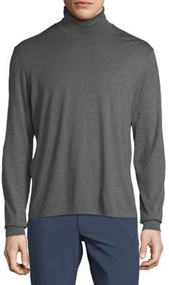 Theory Men's Plaito Funnel Neck Shirt
