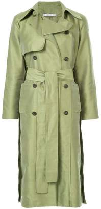 Nino Babukhadia mid-length trench coat