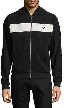 Fred Perry Reverse Tricot Bomber Jacket