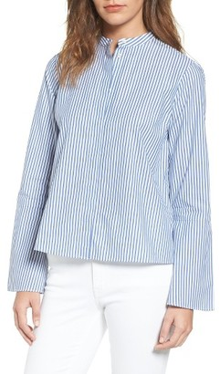 Women's Madewell Bell Sleeve Blouse $79.50 thestylecure.com