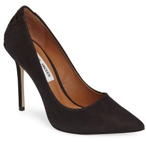 Women's Steve Madden Paiton Laced Heel Pump $99.95 thestylecure.com