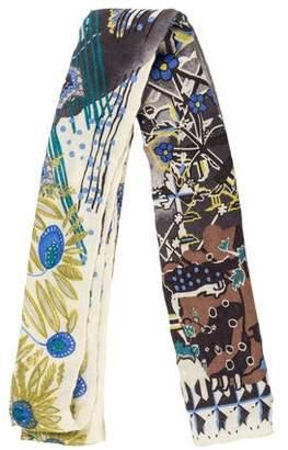 Christian Lacroix Silk & Cashmere-Blend Shawl