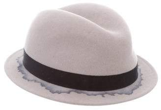 Maison Michel Felt Fedora Hat