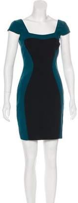 Jay Godfrey Colorblock Mini Dress w/ Tags