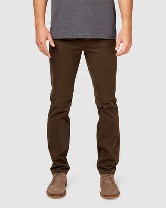 Jeanswest Slim Straight Jeans Dark Forest