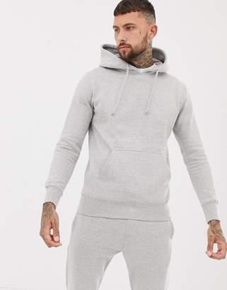 Pull&Bear hoodie in grey