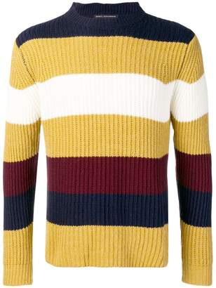 Daniele Alessandrini waffle knit sweater