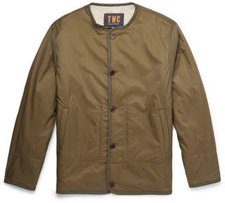 The Workers Club Reversible Faux Shearling And Shell Jacket