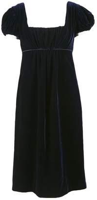 Dolce & Gabbana Navy Velvet Dresses