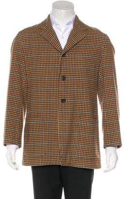 Dries Van Noten Deconstructed Wool Car Coat