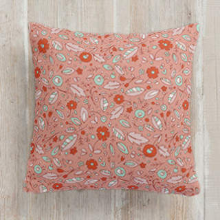 Wildflower Self-Launch Square Pillows