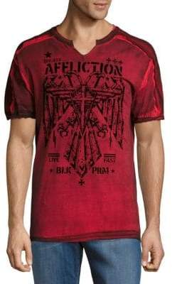 Affliction Silent Eagle Cotton Shirt