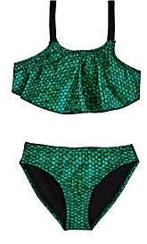 Hampton Mermaid Tank Bikini-Green