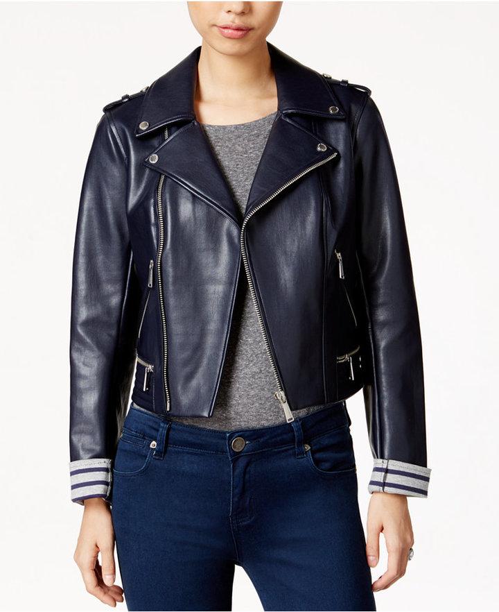 BCBGenerationBCBGeneration Faux-Leather Moto Jacket