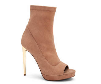 BCBGMAXAZRIA Bali Peep Toe Booties Women Shoes
