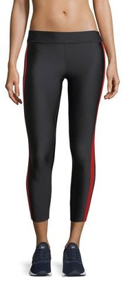 Ultracor Matte Collegiate Cropped Performance Leggings $185 thestylecure.com