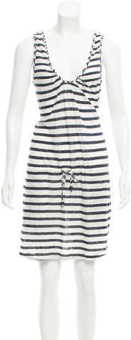 0039 Italy0039 Italy Striped Linen Dress