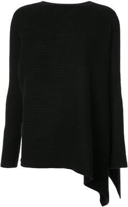 Derek Lam asymmetric hem knitted jumper