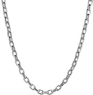 JCPenney FINE JEWELRY Mens Stainless Steel 18 5mm Thin Rolo Chain