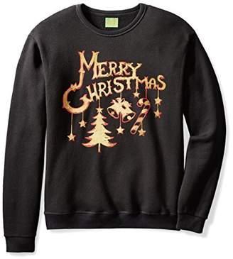Ugly Fair Isle Unisex Jingle Bells Crewneck Christmas Sweater