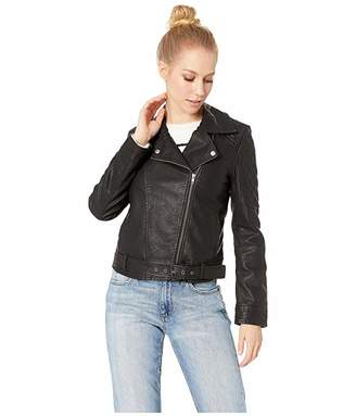 BB Dakota Walkin in Memphis Vegan Leather Jacket