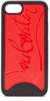 Christian Louboutin Loubiphone Sneakers Rubber Iphone 7 & 8 Case - Womens - Black Red