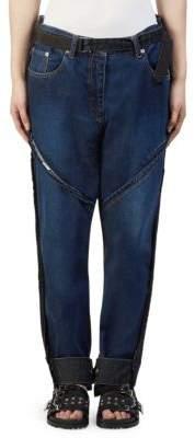 Sacai Two-Tone Denim Pants
