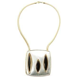 Pierre Cardin Vintage Metallic Metal Necklace