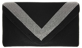Nina Ball Kiralee Mesh Clutch - Black $75 thestylecure.com