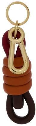 Loewe knot keyring