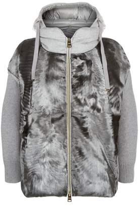 Herno Padded Fur Jacket