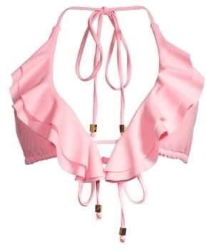 Shoshanna Women's Petal Ruffle Bikini Top - Petal - Size XS/Small (A/B)