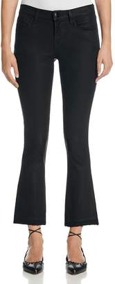 J Brand Selena Mid Rise Coated Crop Jeans in Fearless