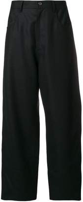 Sofie D'hoore wide leg fitted waist trousers