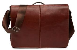 Boconi Slim Mailbag Messenger With Seat
