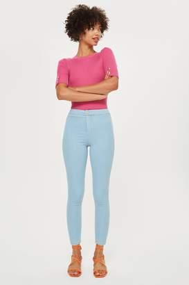 Topshop PETITE Super Bleach Joni Jeans