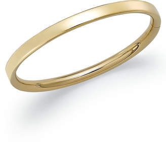 Macy's Children's Hinge Bangle Bracelet in 14k Gold