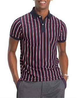 Tommy Hilfiger Vertical Stripe Slim Polo